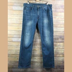 Levi's 505 Straight Leg Medium Wash Jeans (KG481)